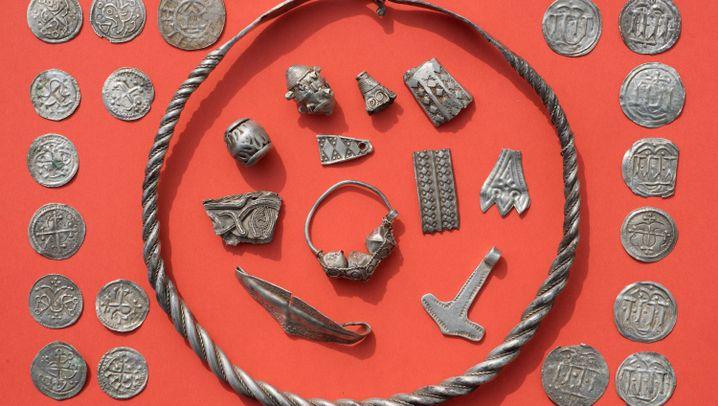 Münzen von Harald Blauzahn: Sie haben einen Schatz gefunden