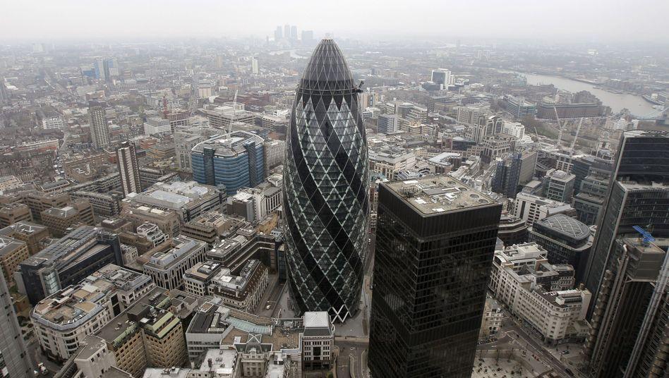 Finanzplatz London: Deutliches Plus für Schattenbanken