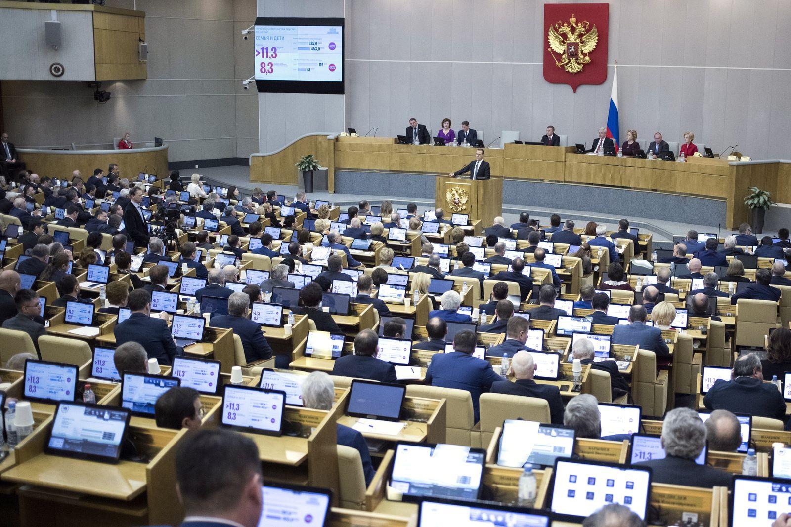 Russland Parlament