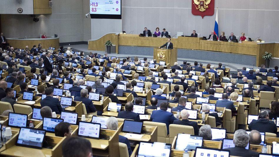 Die Duma, das russische Parlament (Archiv)
