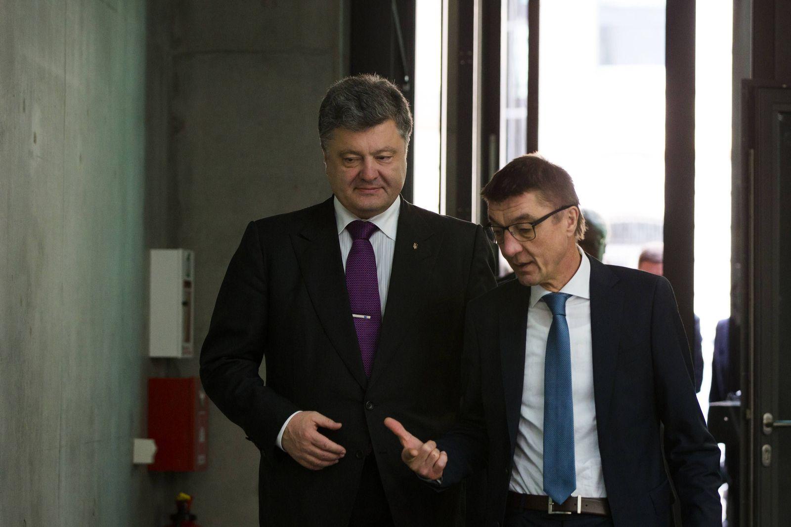 Berlin/ Ukraine/ Pjotr Poroschenko