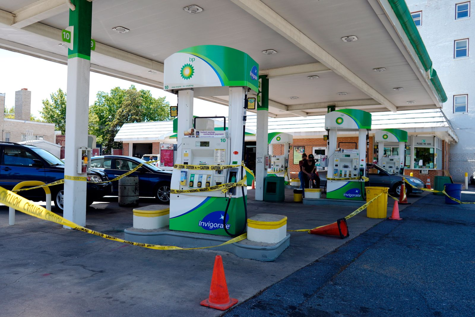 Gas Stations in District of Colombia affected by the Colonial Pipeline ransomware attack