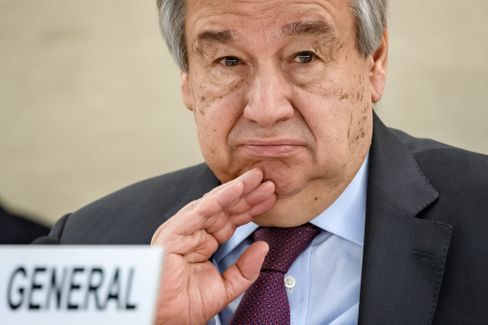 Uno-Generalsekretär Guterres