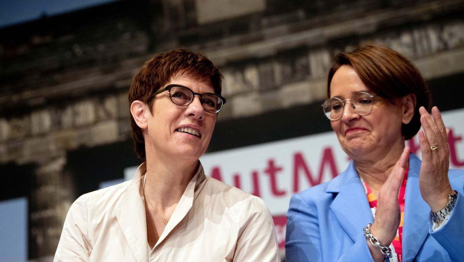 Annegret Kramp-Karrenbauer, Annette Widmann-Mauz: Initiative für mehr Kandidatinnen