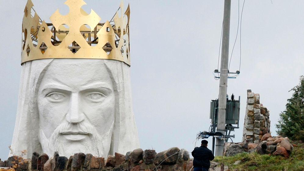Statue in Swiebodzin: Polens 36-Meter-Christus