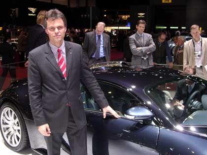 """Bugatti-Chefentwickler Wolfgang Schreiber: """"Die Autos neben Ihnen bleiben einfach stehen"""""""