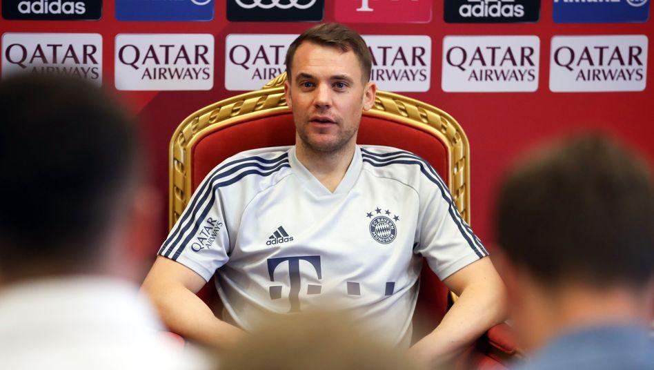 Manuel Neuer will seinen Thron in München behalten