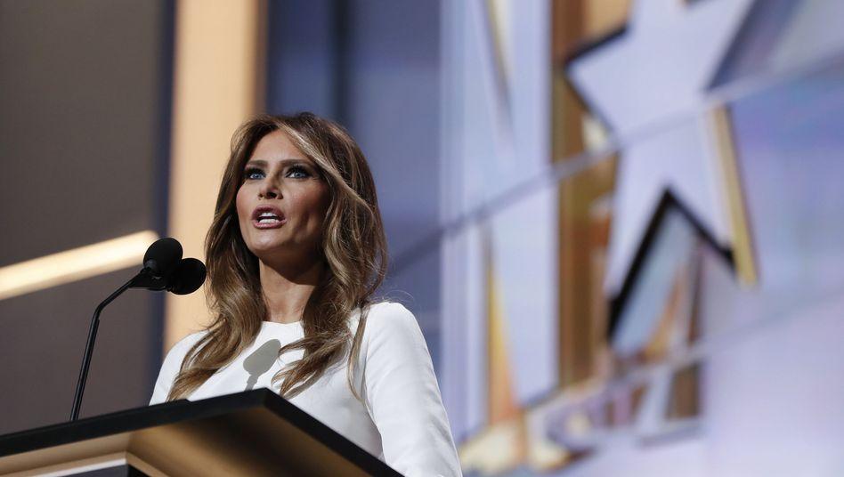 Melania Trump bei Rede auf Republikaner-Parteitag