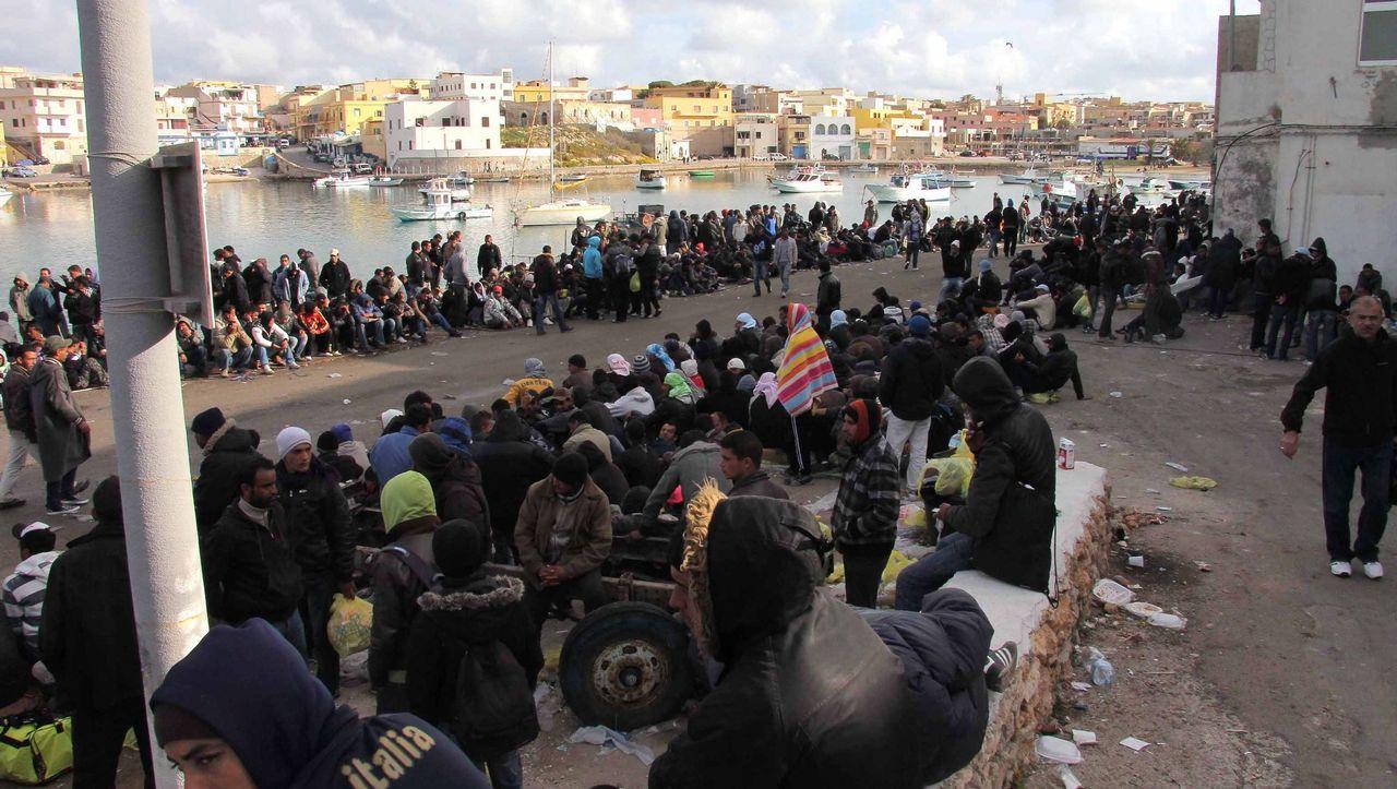 Flüchtlinge Lampedusa