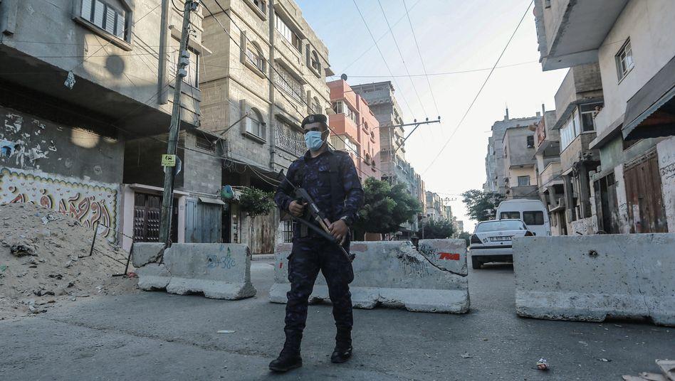 Hamas-Polizist im Gazastreifen