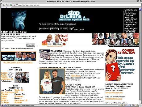 Screenshot: www.stopdrlaura.com