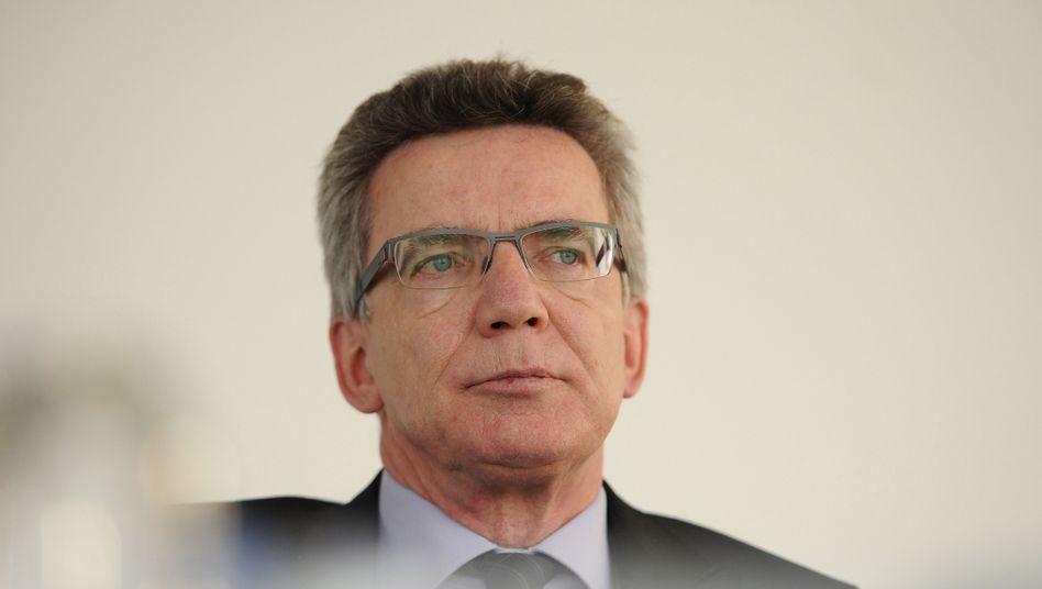 Thomas de Maizière: Der Minister war schon früh informiert