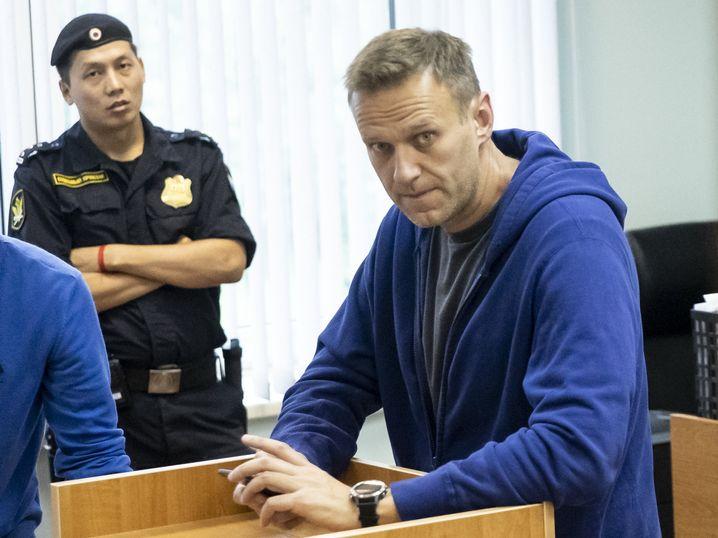 Oppositionspolitiker Nawalny: Er wurde bereits vor der Demo festgenommen