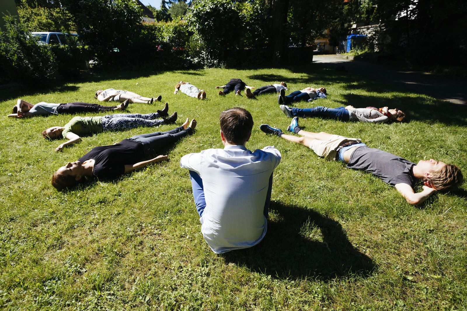 EINMALIGE VERWENDUNG Andreas de Bruin/ Meditation/ Achtsamkeit
