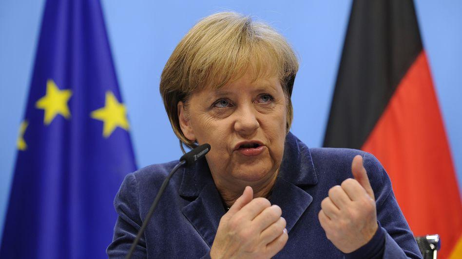 """Kanzlerin Merkel: """"Deutschland wieder im Krieg mit Europa""""?"""
