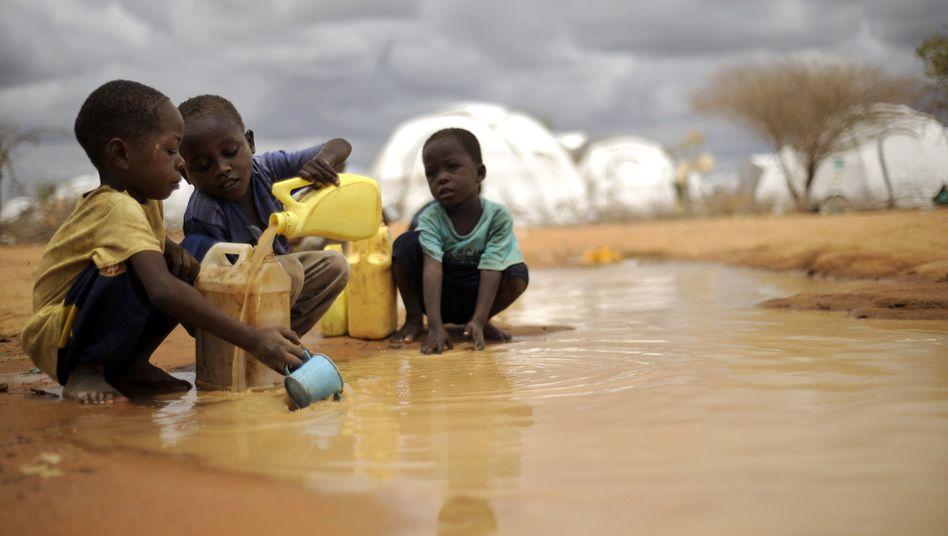 Kinder im Flüchtlingscamp Dadaab