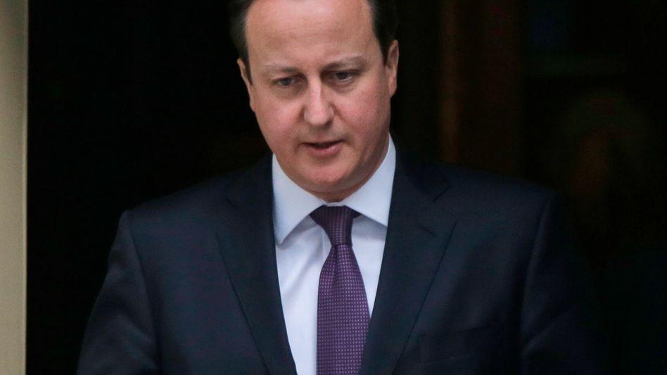 Premier Cameron: Scharfe Kritik vor Grundsatzrede