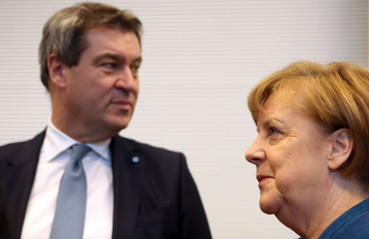 Söder, Kanzlerin Merkel
