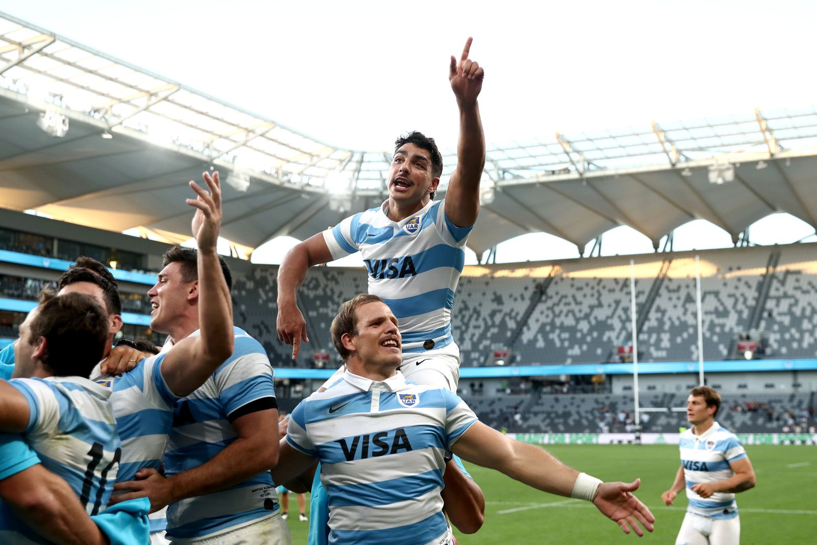 New Zealand v Argentina - 2020 Tri-Nations