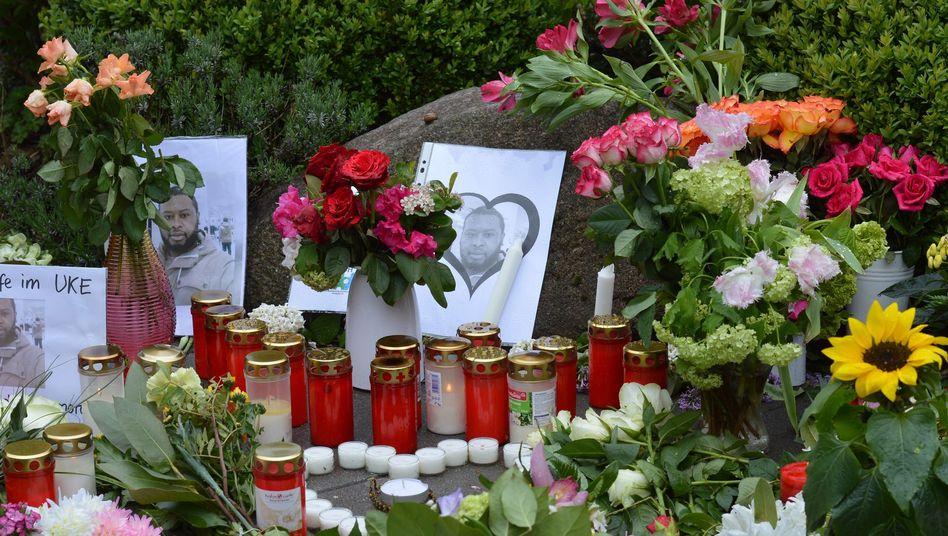 Gedenkstätte vor dem UKE (Archivbild)