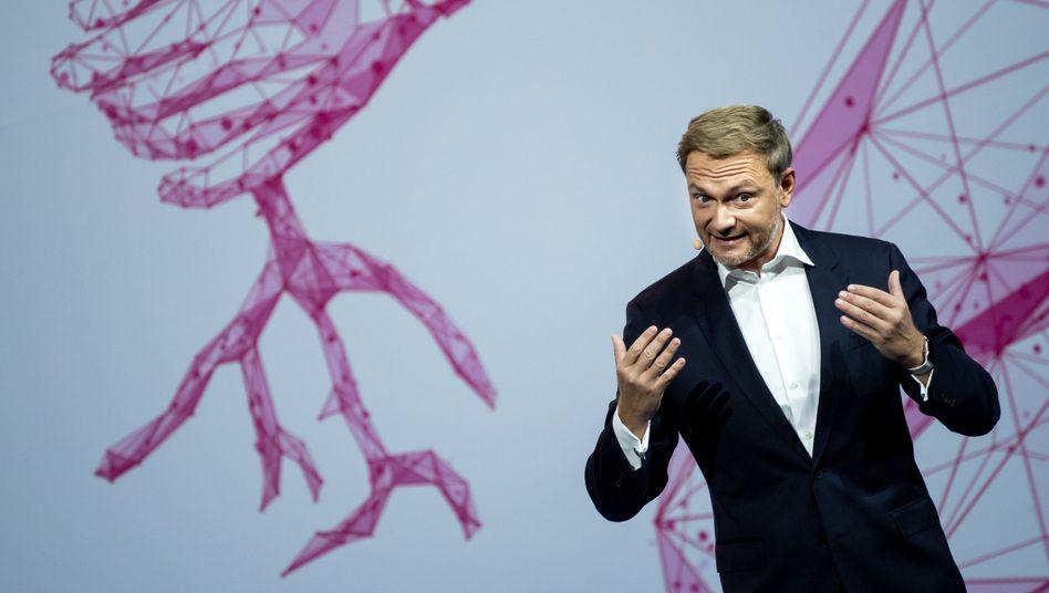 """Parteichef Lindnder: """"Nicht, was ihr jetzt denkt"""""""