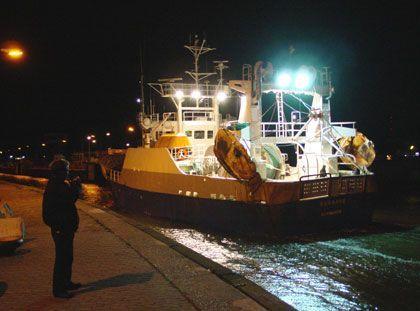 Nach einer Fangtour sind die Hochseefischer selten in Stimmung für Hafenromantik - der Job kostet Kraft