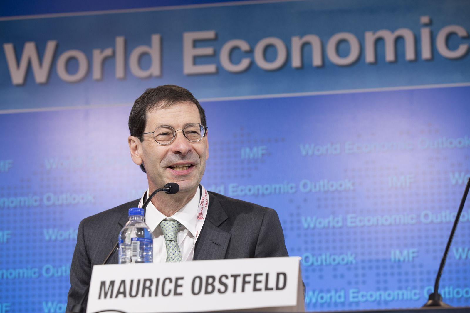 Maurice Obstfeld / Favoriten Wirtschaft / Nobelpreis