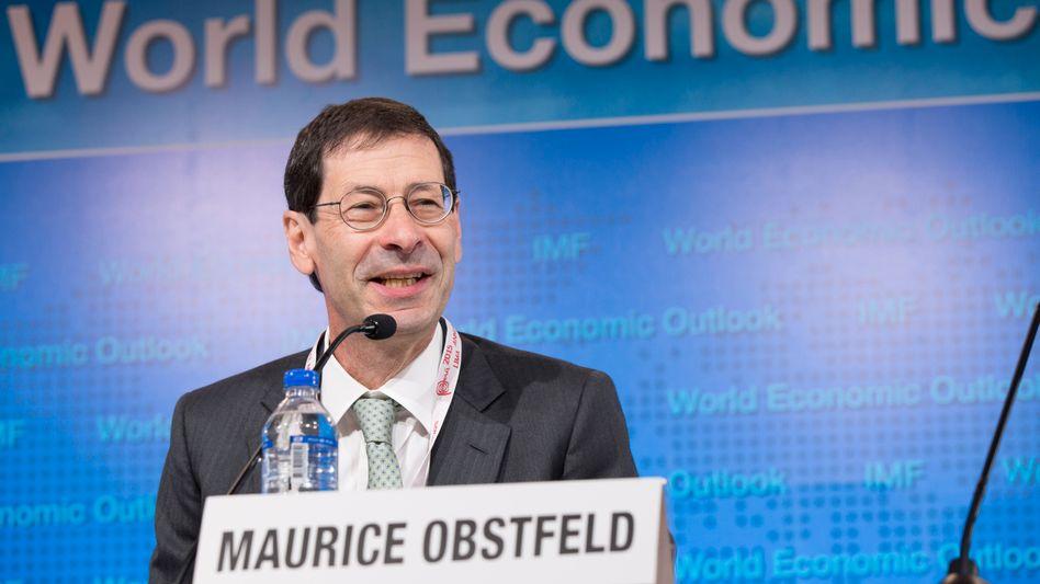 IWF-Chefsvolkswirt Maurice Obstfeld