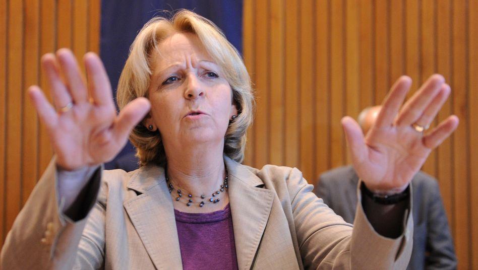 SPD-Landeschefin Kraft: Lieber mit der CDU als mit den Linken
