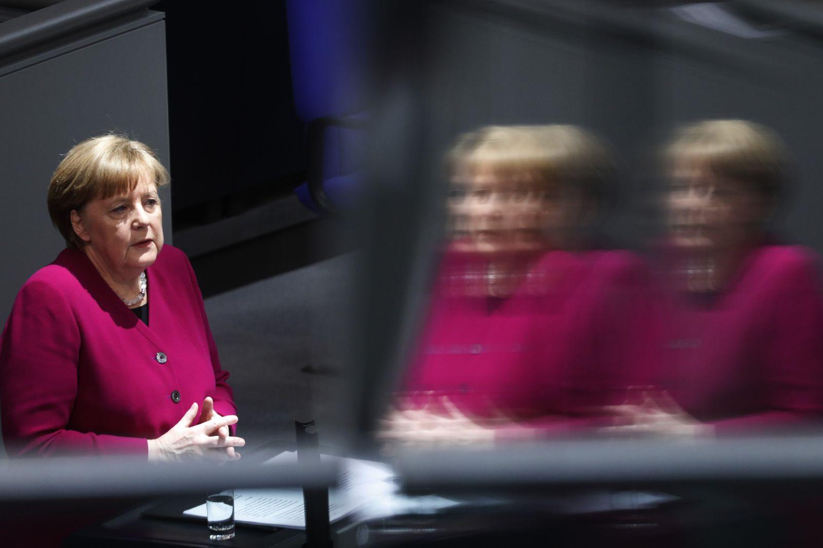 Angela Merkel/ CDU/ Regierungserklärung