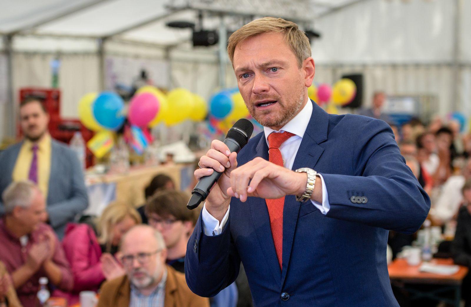 Politischer Gillamoos - FDP