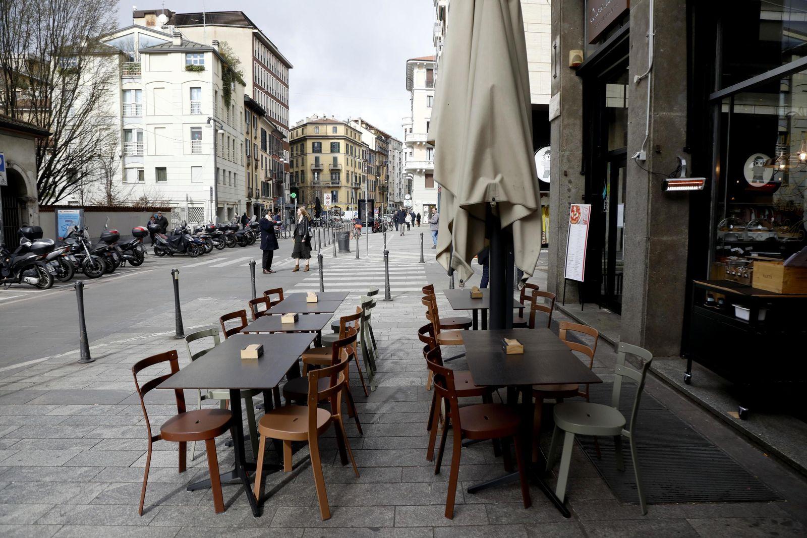 COVID-19 coronavirus in Italy, Milano - 26 Feb 2020