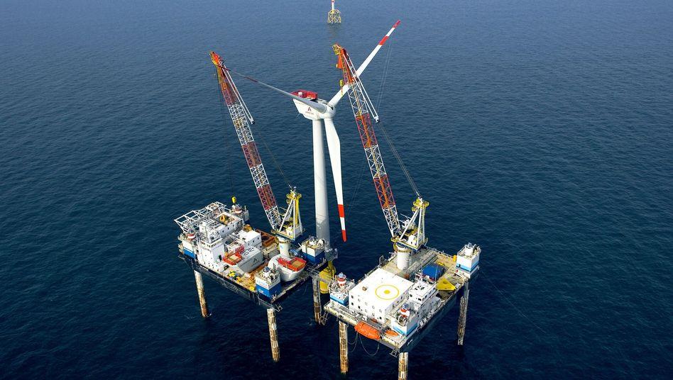 Offshore-Testanlage vor Borkum: Wichtige Windpark-Projekte verzögern sich