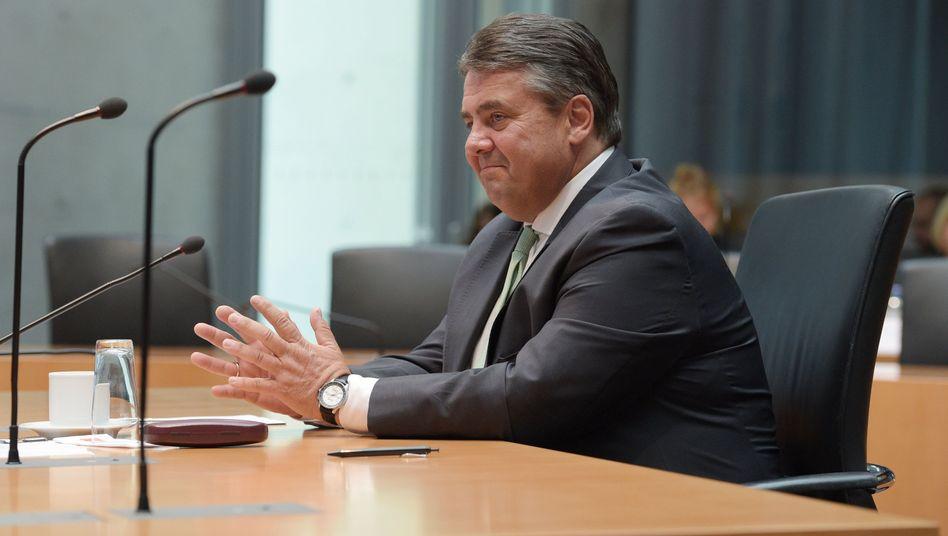 """SPD-Chef Gabriel: """"Kein Bruch der Vertraulichkeit"""""""