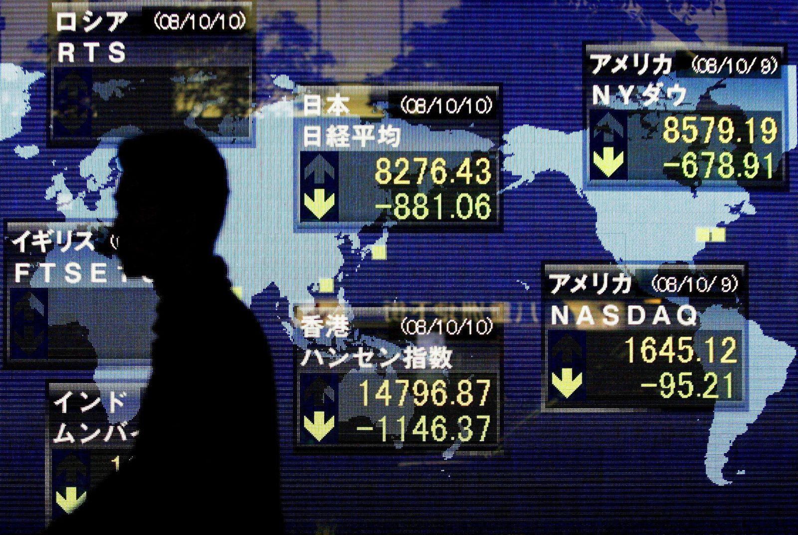 Dramatischer Einbruch an Tokios Börse - Nikkei mit drittgrößtem Tagesverlust