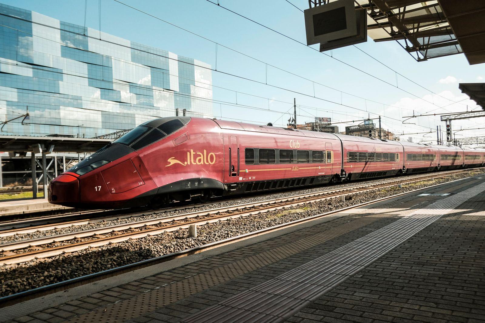 ITALY-ECONOMY-TRANSPORT-TRAIN-ITALO-GIP