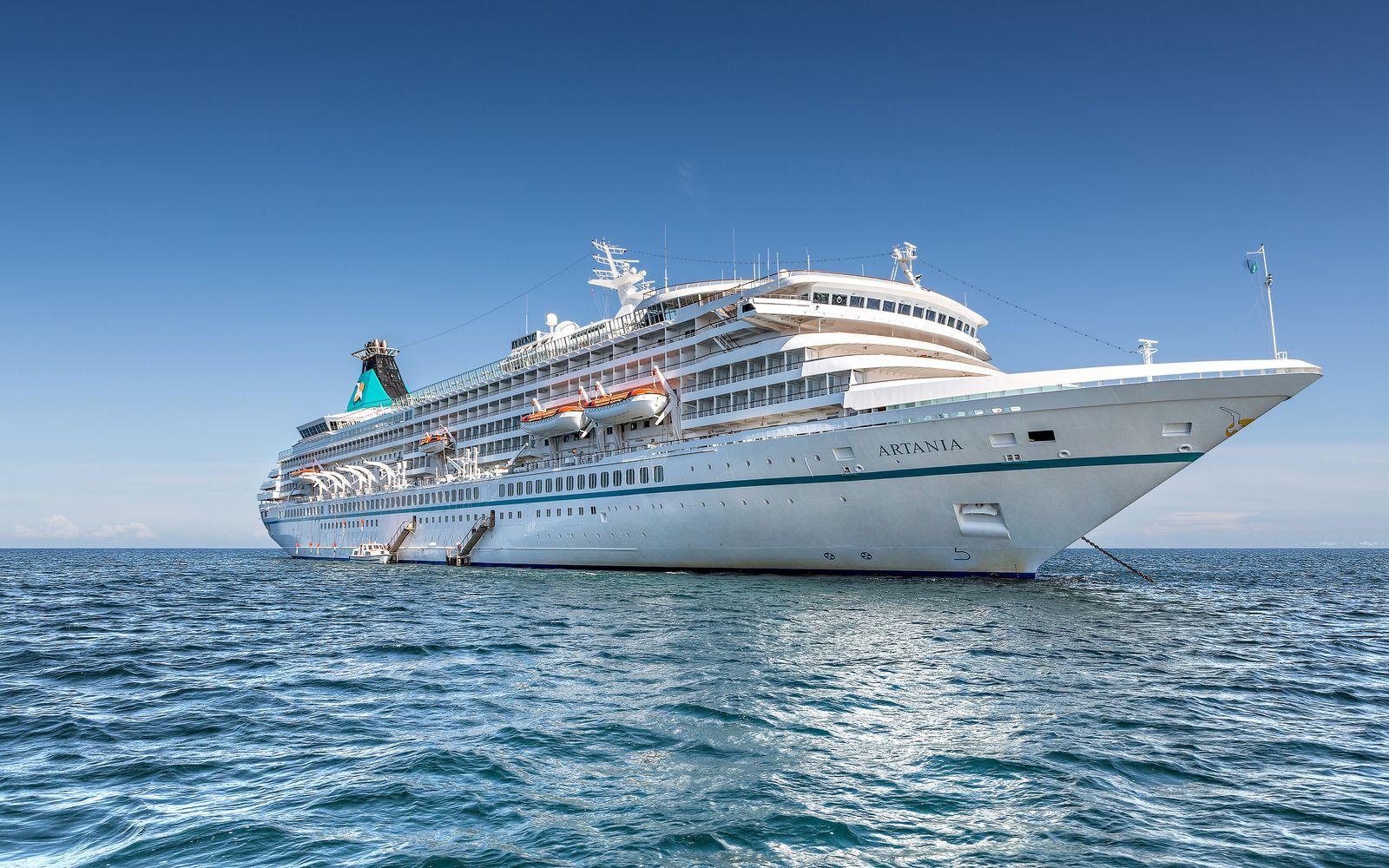 "Coronavirus - Kreuzfahrtschiff ""MS Artania"""
