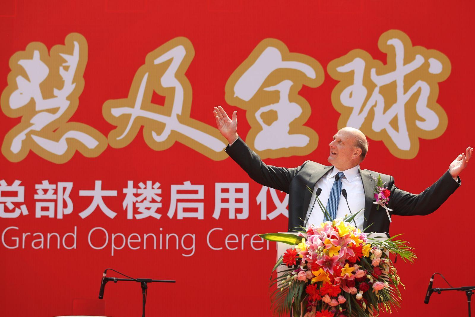 Ballmer / China / Eröffnung