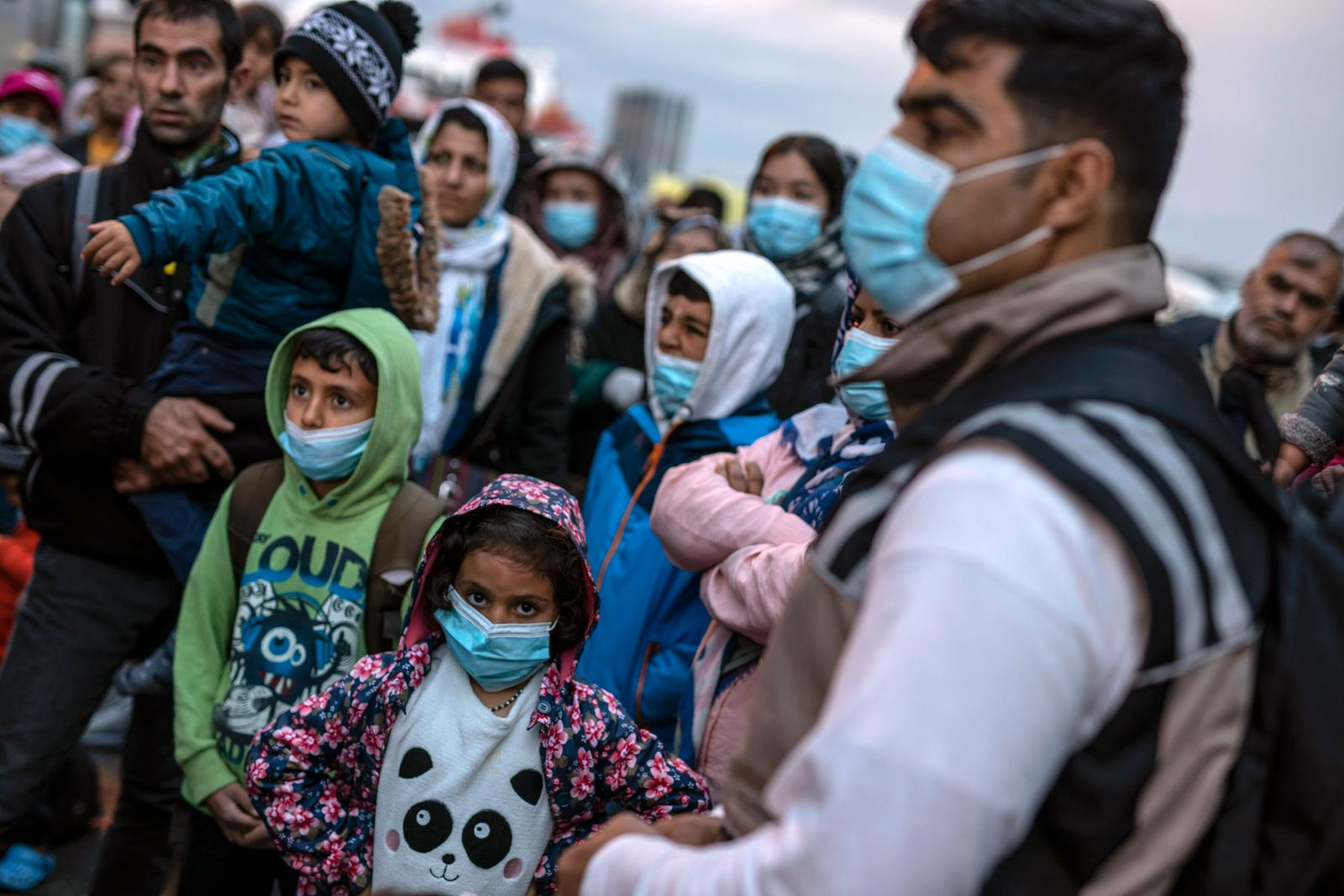APTOPIX Virus Outbreak Greece Migrants