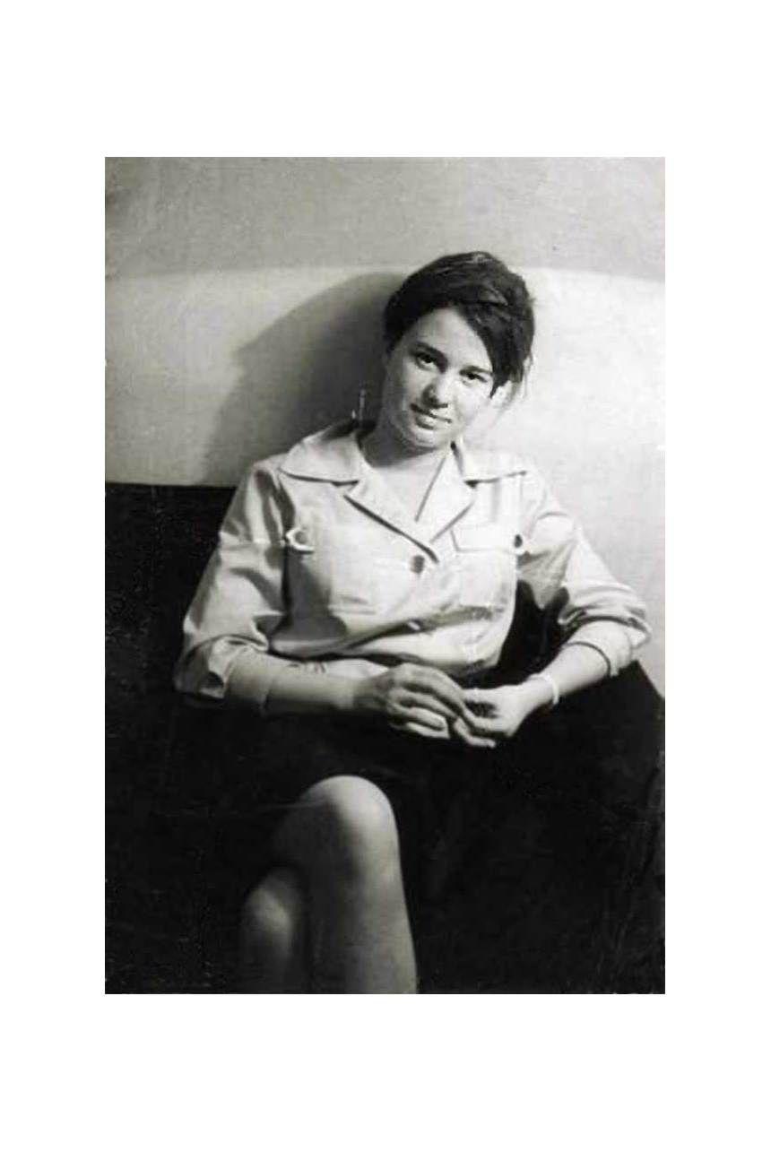 EINMALIGE VERWENDUNG NUR FÜR EINESTAGES - Ulrike Meinhof als junge Journalistin