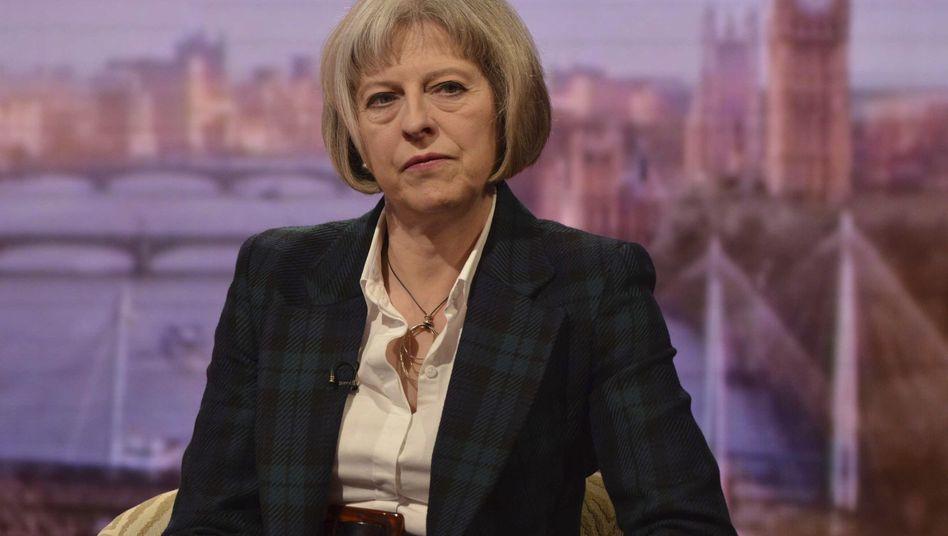 """Britische Innenministerin May: Terroristische Bedrohungen """"größer denn je"""""""