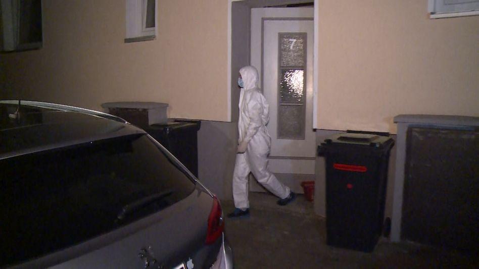 Spurensicherung am Tatort: In Hannover wurde eine Sexarbeiterin getötet