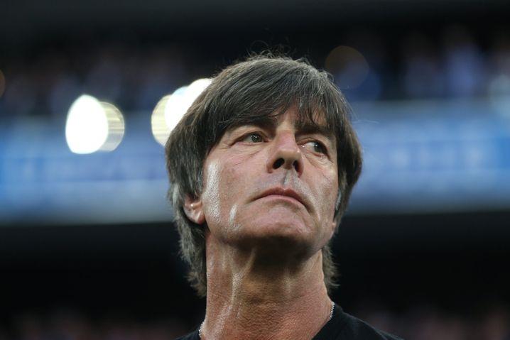 Bundestrainer Löw beim Spiel gegen Frankreich