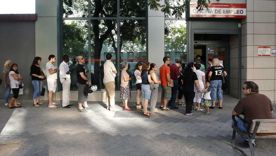 Arbeitslose in Spanien: Deutschkurse als Ausweg aus der Eurokrise
