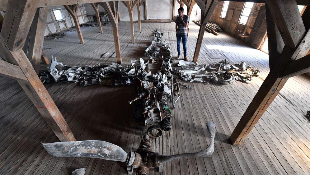 Ballhausen: Überreste einer Messerschmitt Me 109