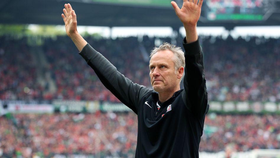 Freiburg-Trainer Streich: Liebe zum Klub