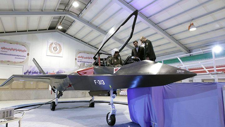 Qaher-313: Irans neuer Kampfjet