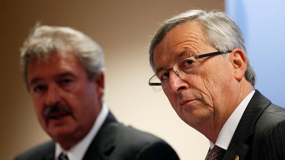 Photo Gallery: Jean-Claude Juncker on the Euro Crisis