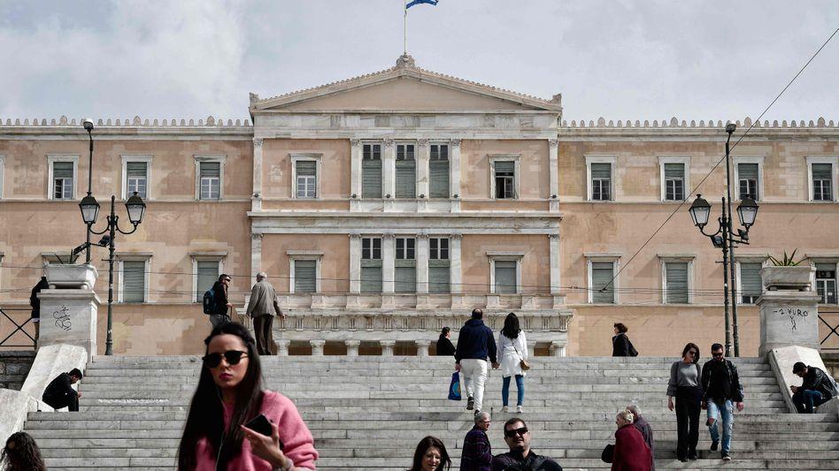 Griechisches Parlament in Athen