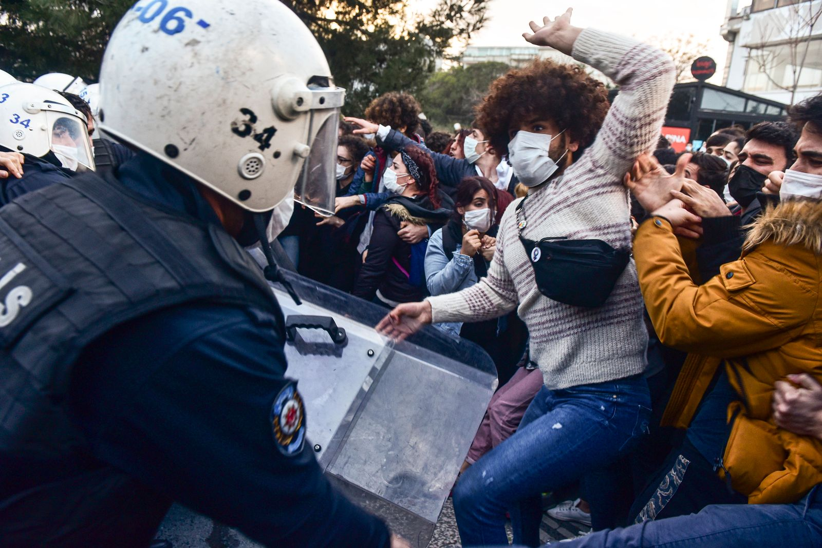 Bogazici / Studentenproteste